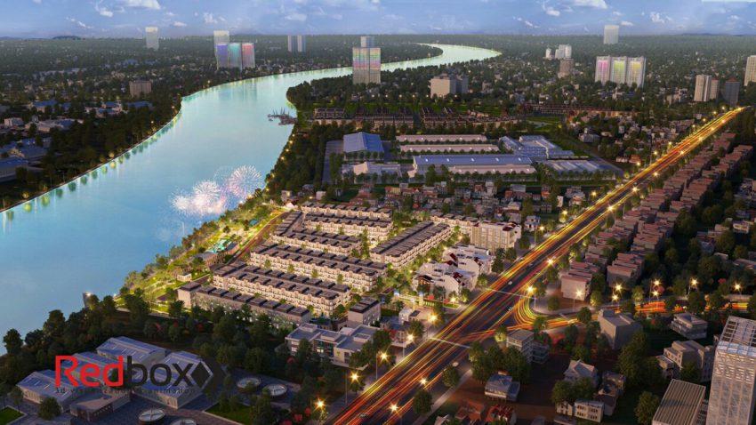 dự án solar city phối cảnh