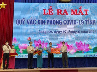 Trần Anh Group ủng hộ 10.000 liều vaccine covid-19