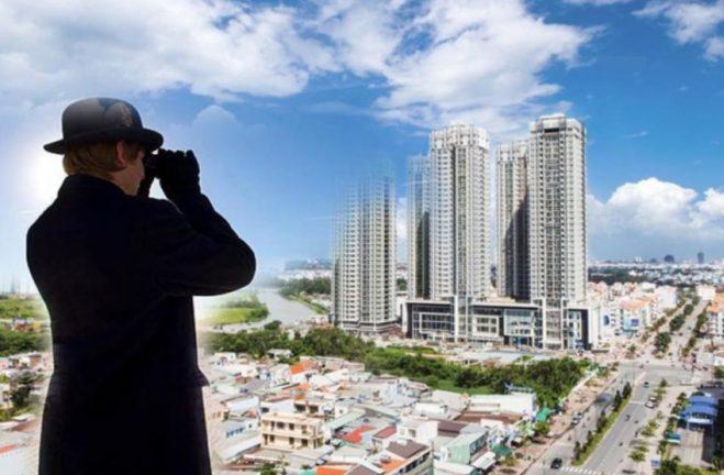 lãi suất tiền gửi giảm nhà đầu tư mua đất