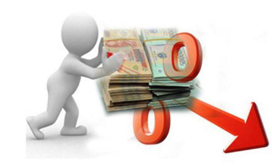 tiền gửi ngân hàng mức tăng trưởng thấp kỷ lục